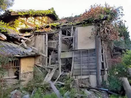 Desolate abandoned house