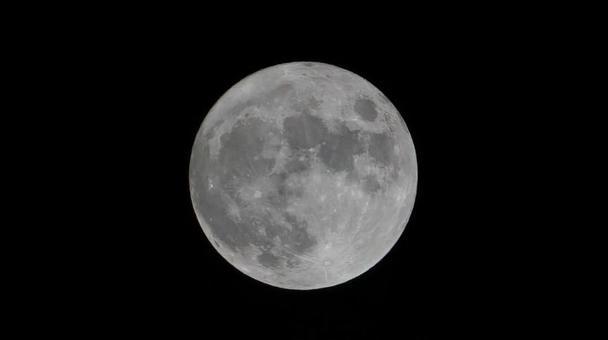 Beautiful full moon photo Moon up