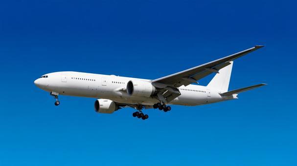 Airplane 28 Jet Before Landing Background Transparent PSD