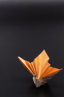 折紙の孔雀