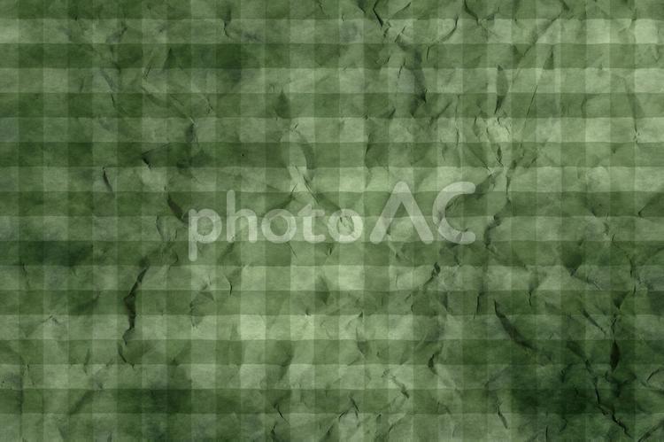 しわのある和紙 彩雲 ギンガムチェック柄 ちぢれ 凸凹 テクスチャ 39の写真