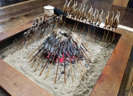 Japanese traditional hearth