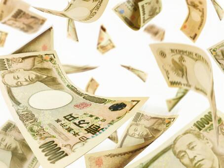 흩 날리는 돈