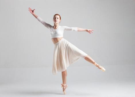 Dancing female ballerina 3