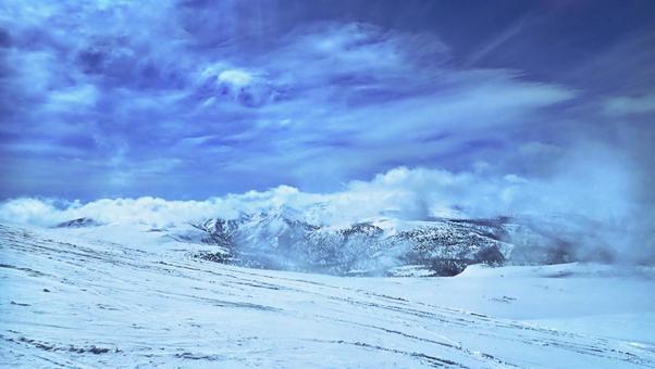 아사히 다케 겨울 7