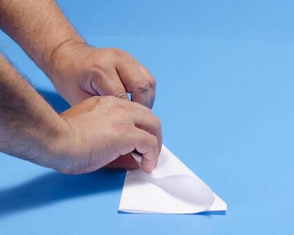 Paper flying machine 160