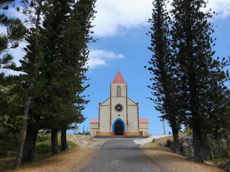 뉴 칼레도니아 여행 우베 아 섬 무리 교회 천국에 가장 가까운 섬