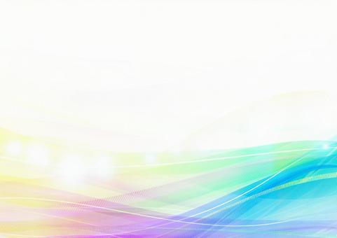 Wave _ Waveform _ Rainbow _ Texture