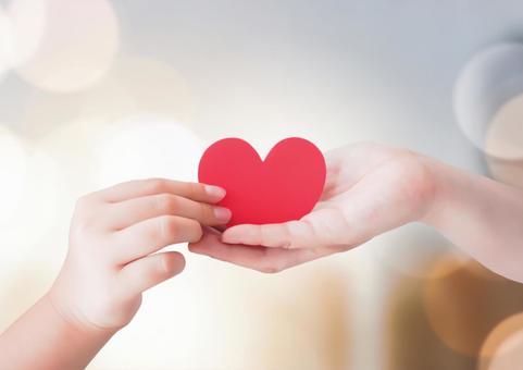 Handing over children's hands and hearts
