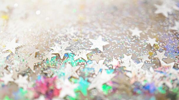 Glitter texture of stars