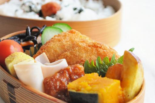 Handmade croquette lunch box_lunch image