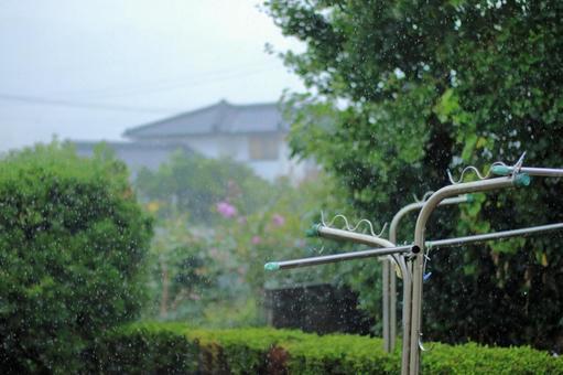 비오는 풍경