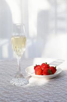 香槟和草莓1