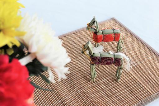 Image of Obon Spirit horse