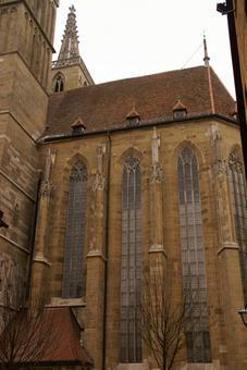 Long window of St. Jacob's Church