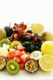 Assorted fruits 04