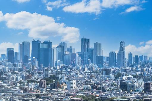 東京景觀展望形象建築城市首都辦公室