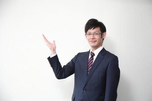 Guide businessman 3