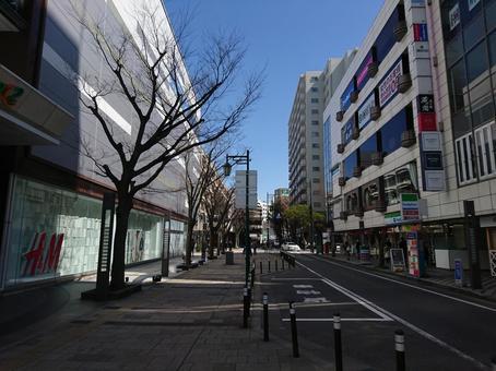 Cityscape of Bandai Niigata