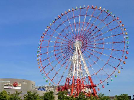 Ferris wheel in Odaiba 1