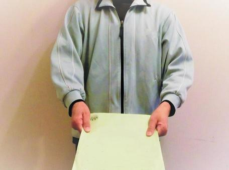 Caregiver handing over submissions
