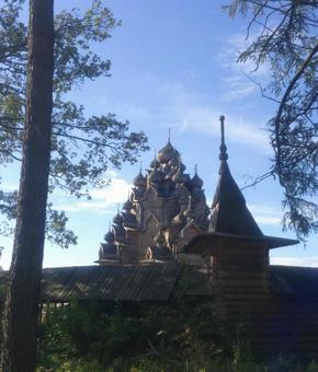 포크 로브 스키 성당, 상트 페테르부르크, 러시아.