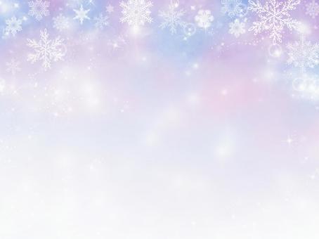 Snow pastel background