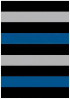 Background material · design · black x blue series border