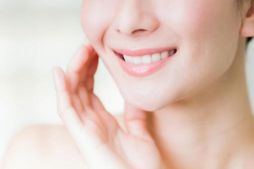 Mouth beautiful skin beauty image
