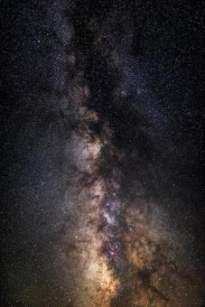 Milky way in summer