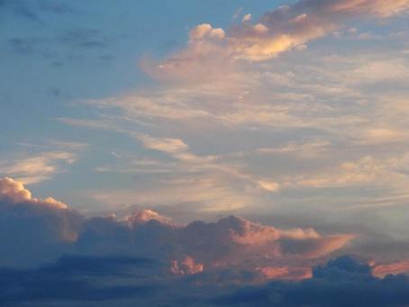 Summer evening sky # 2