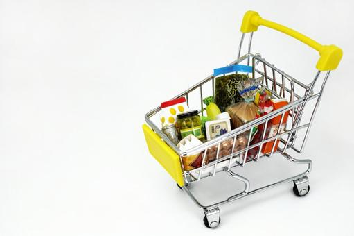Shopping cart 【4】 Food