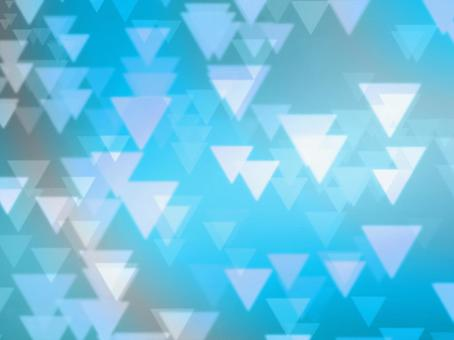 Background Material · Design · Triangle x Blue