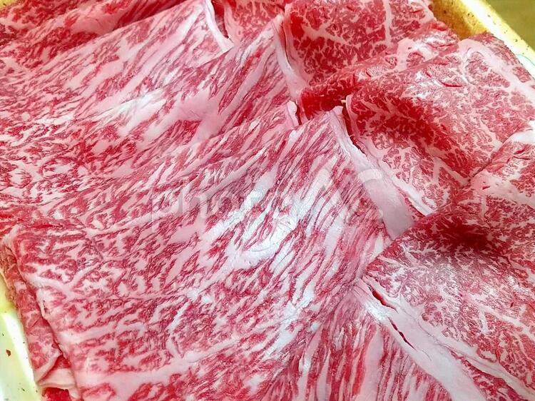 飛騨牛すき焼き用_A5等級の写真
