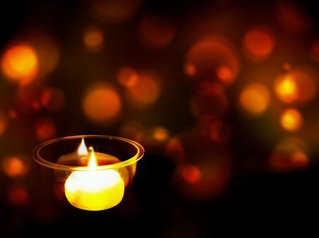 촛불의 빛