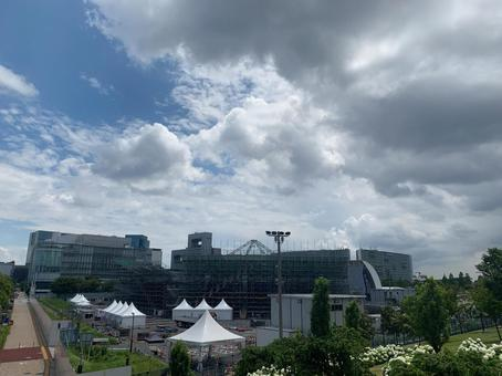 Tokyo Paralympics 5-person soccer venue (Oume Urban Sports Park)