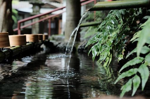 Kyoto Kibune Shrine Chozuya