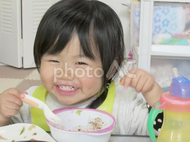 食事タイムの写真