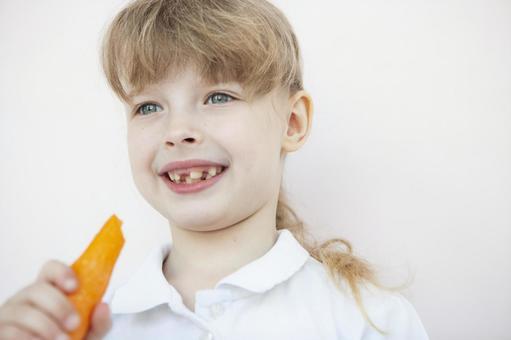胡蘿蔔的女孩