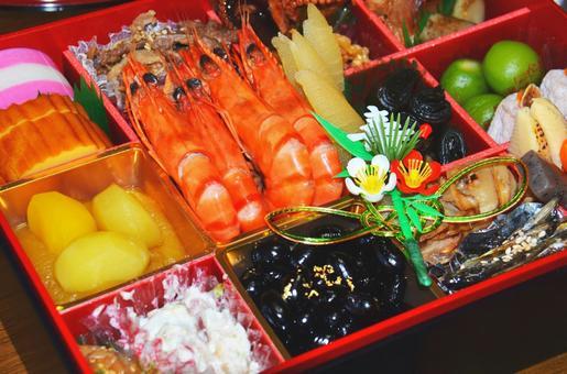 Osechi cuisine assortment