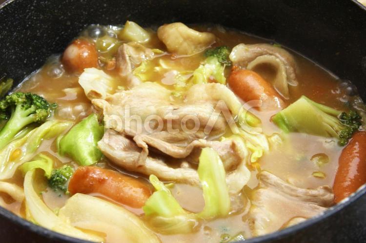 カレー鍋の写真