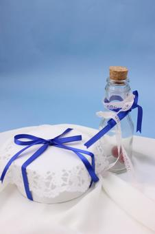 Present and bottle 2
