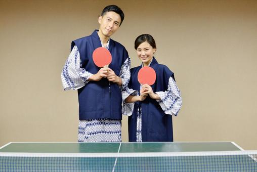 这是乒乓球说到温泉! 2