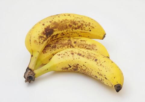 Banana white background