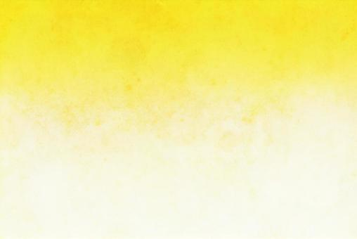 Bright yellow gradient background New Year's card material Blur Japanese paper style