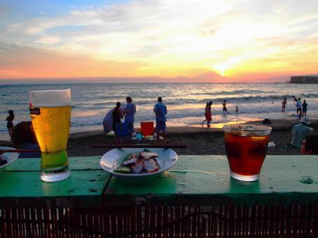 해변 카페