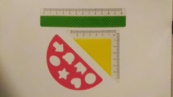Children's ruler set
