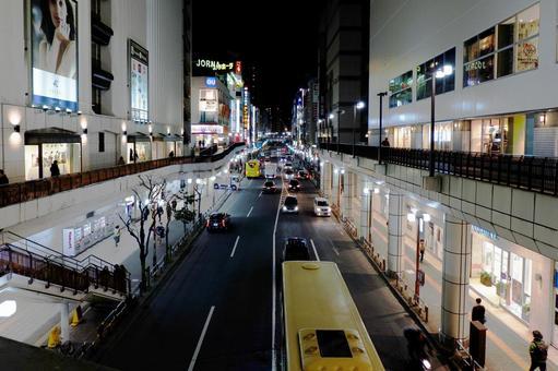 밤 마치다 에키 마에 도리 03