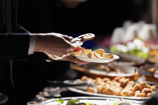 Western dinner buffet
