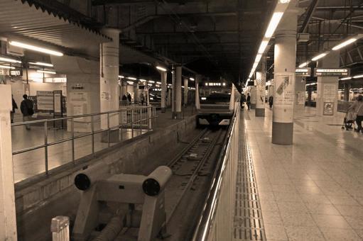우에노 역 플랫폼